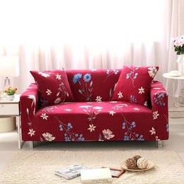 Spandex u0026 Polyster Sectional Flower Sofa Cover sofa slipcover Elastic Couch Cover L Shaped Slipcover Sofa Towel 1 2 3 4 Seat  sc 1 st  DHgate.com : sectional sofa online - Sectionals, Sofas & Couches