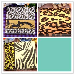 Wholesale Decorative Printing Paper Canada - Fashion food-grade Wholesale table paper napkins tissue printed leopard 3 patterns decoupage home hotel wedding party cocktail decorative