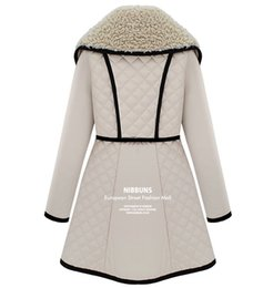 Down Shows Canada - Wholesale-Lady new winter Cotton-padded jacket coat women's Outdoor long coat women show thin cotton quilted jacket S,M,L,XL,2XL white