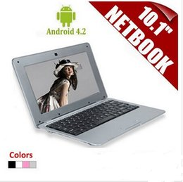 Laptop Hdmi Android Canada - 10.1Inch Android 4.2 VIA 8880 Cortex A9 Dual Core 1.5GHZ MINI Netbook Laptop with WIFI 1GB 8GB Ethernet External 3G HDMI 1080P