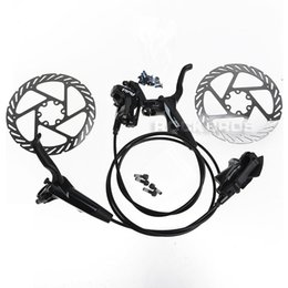 Bike Ti Canada - AVID 2014 DB3 MTB Bike Bicycle Hydraulic Brake Set Front and Rear Disc Brake & HS1 G3 G2 Disc Brake 160mm Rotor&Ti Bolt,2Colors