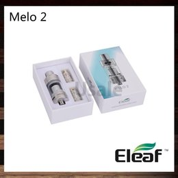 Chinese  Ismoka Eleaf Melo 2 Atomizer 4.5ml Melo 2 Sub Ohm Tank Airflow Adjustable Clearomizer Best Match iStick 60W eVic Mini Nebox 100% Original manufacturers
