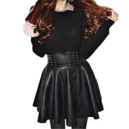 Discount Mini Skirt Black Leather Korean | 2017 Mini Skirt Black ...