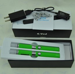 $enCountryForm.capitalKeyWord NZ - E Cigarettes eGo EVOD MT3 Double Gift box Kit e cigs evod batteries starter Kits with MT3 Atomizer Vaporizer tanks vape pens Kits