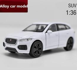 Jaguar gifts online shopping - 1 scale Jaguar SUV alloy car metal toys high simulation diecast