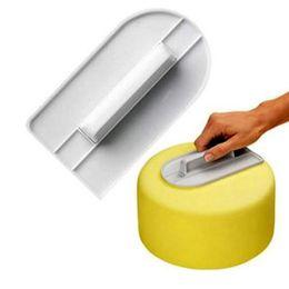 $enCountryForm.capitalKeyWord UK - Plastic Fondant Cake Cream Smoother Polisher Tools Cake Panner Food Grade Cake Spatulas Straightener Baking Tools