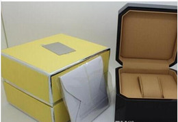 Mens black wood watch online shopping - Factory Seller Brand Luxury Mens For Watch Box Original Box Woman s Watches Boxes Men Wristwatch box