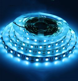 Car led strip waterproof 12v online shopping - DC12V M SMD Ice Blue Leds M Flexible Led Strip Light Non Waterproof Car Home Decoration Tape Led Ribbon