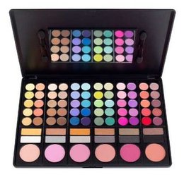 Palette Ombre À Paupières 78 Couleurs Pas Cher-2016 Nouveaux Odeurs Costal 78 couleurs Eye Shadow Palette cosmétique maquillage Lipgloss Mirror Blush Kit Set