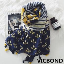 Scarfs Cotton Australia - New autumn winter cotton national literature flower woman scarf sunscreen warm shawl pashmina fashion Muslim hijab 10pcs lot