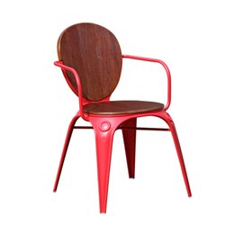 Wholesale Cheap Creative Industries Wind Cafe metal chairs LOFT  personalized retro wrought iron chair Nordic wood handrailsMetal Cafe Chairs Online   Metal Cafe Chairs for Sale. Metal Cafe Chairs Sale. Home Design Ideas