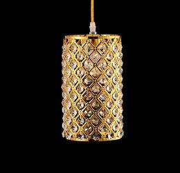 Single light crystal pendant chandelier online shopping single modern single led crystal chandeliers lights ac85 265v 3w modern crystal lamps aisle high power lights aloadofball Images