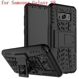$enCountryForm.capitalKeyWord Australia - Shockproof Rubber Hard Armor Hybrid Rugged Case Protective Stand Cover for Samsung Galaxy S8