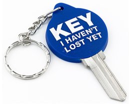 $enCountryForm.capitalKeyWord Australia - 100 pieces color rubber 3d KEY NOT LOST house key blanks in KW10 for Kwikset locks or SC1 for Schlage locks