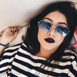 $enCountryForm.capitalKeyWord Canada - Yaobo Fashion Heart Sunglasses Women Brand Designer Love Shaped Metal Frame Sun Glasses Vintage Glasses oculos de sol feminino