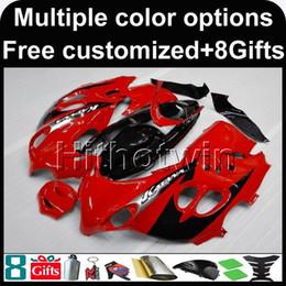Katana Fairing Black Red Canada - 23colors+8Gifts RED Body motorcycle Fairing for Suzuki GSX600F Katana 2003-2006 GSX600F 03 04 05 06 ABS Plastic Fairings bodywork kit