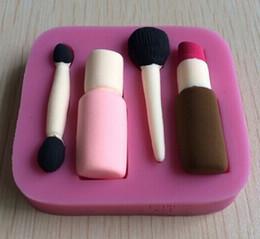 $enCountryForm.capitalKeyWord Canada - Fashion blush lipstick eyeshadow makeup tools fondant cake molds soap chocolate mould for the kitchen baking cake tool