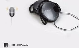 Universal mobile price online shopping - 3 mm Stereo Headphone Subwoofer Earphone Ear Hook Headset For Mobile Phone Headset Factory Price