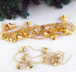 $enCountryForm.capitalKeyWord Canada - A string of decorative Christmas bells about 1.3 meter length PVC JingLing bells for christmas tree and showcase decoration