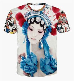 Wholesale tshirts men women s t shirt D print rihanna Clown Abstract t shirt casual women funny harajuku short sleeve t shirt