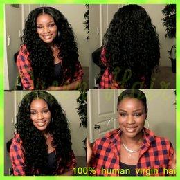 $enCountryForm.capitalKeyWord Canada - best quality curly Brazilian virgin human remy hair glueless full lace wigs human hair best quality
