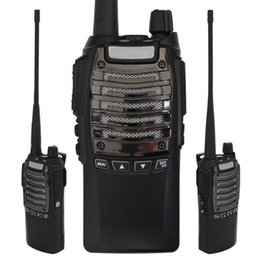 Very Durable Canada - Wholesale-Xgody Pofung UV-8 UHF+VHF Dual Band FM 8W Walkie Talkie Ham Two-way Radio Portable radio outdoors Very Durable
