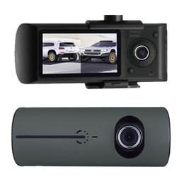 $enCountryForm.capitalKeyWord NZ - Dual Lens Car DVR X3000 R300 Dash Camera car camera dvr with GPS G-Sensor Camcorder 140 Degree Wide Angle 2.7 inch Cam Video Recorder