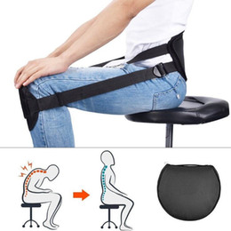 Wholesale Correct Back Posture While Sitting Posture Corrector Back Support Brace Belt Adjustable Waist Protection CCA8323