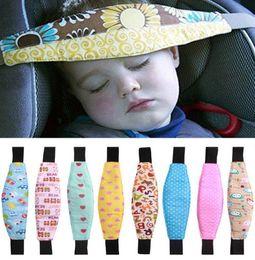 Wholesale 2017 hot Car Safety Seat Sleep Positioner Infants And Baby Head Support Pram Stroller Fastening Belt Adjustable