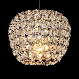 pendant lamp hallway light NZ - Crystal Apple Dining Room Hanging Lamp Modern Fashion Kitchen Bar Cafe Pendant Lamps Hallway Balcony Pendant Lights