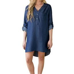 Jean dresses for plus size