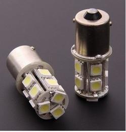 White Lamp H7 Canada - 50pcs lots 1156 1157 BA15S P21W 13 SMD 5050 13 LED 13led 13smd Brake Tail Turn Signal Light Bulb Lamp white Auto led Car bulb light 12V