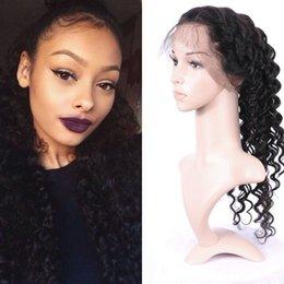 virgin hair closure bleached knots 2019 - 360 Lace Frontal Indian Virgin Hair Closure Free Part Bleached Knots Deep Wave 360 Lace Closure G-EASY cheap virgin hair