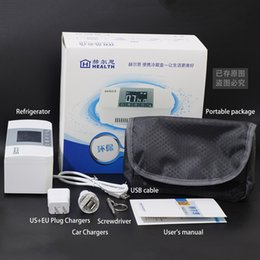 Recarregável Portátil Outdoor Travel Mini Refrigerador Portable Insulin Vaccine Blood Interferon Cooler Box DC5V DC12V