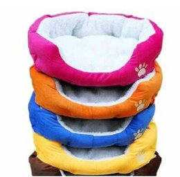 Chinese  2014 HOT ! Colorful Pet Cat and Dog bed & Pink,Orange,Blue,Yellow,Brown,Gray,Green SIZE M,L manufacturers