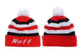 Order free beanies online shopping - Neff Beanies New Arrival Pom Pom Beanies Hip Hop Snapback Hats NEFF Custom Knitted Cap Snapbacks Mix Order Free Ship High Quality