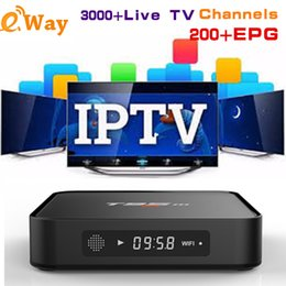 Best Android Tv Canada - Best Selling Android 6.0 T95M 4K iptv Box Add 1 Year EVDTV 3000 Channels Arabic France IPTV Ott Tv Boxes