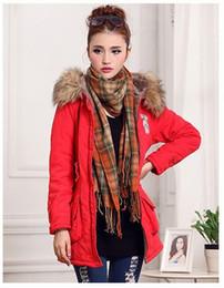 $enCountryForm.capitalKeyWord NZ - Winter Women Coat 2017 Parka Casual Outwear Military Hooded Coat Woman Clothes Fur Coats manteau femme Winter Jacket Women C001