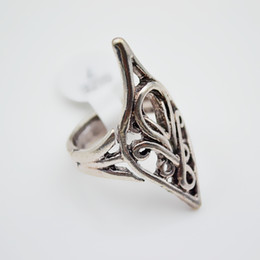 Elves lord ring dhgate uk european and american hobbit the lord of the rings elf king elrond ring 10pcs lot movie jewelry aloadofball Image collections