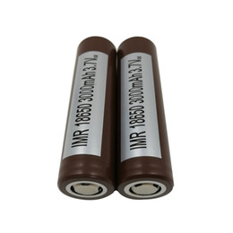 Großhandel 100% authentisch für LG HG2 18650 Batterie 3000mah 35A Max. Entladungs-Hochentladungs-Batterien, die Sony VTC5 VTC4 HE2 HE4 Fedex zerquetschen Freies Verschiffen