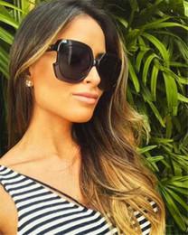 top designer sunglasses 2019 - New fashion designer women sunglasses special square two-color design frames popular generous style uv400 protection eye