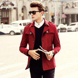 Mens Long Red Trench Coat Online | Mens Long Red Trench Coat for Sale