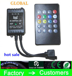 ac music 2019 - Hot sale New DC12V RGB LED Music IR Controller 20 key infrared music LED ir controller the advanced control unit for RGB