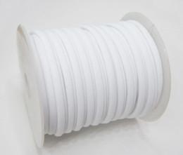 Ingrosso 30colors 5mm 20m / Row Corda elastica in lycra Corda in lycra tondo cucita Nastro in lycra per collo e bracciale