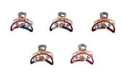 New Moon Clips Canada - New arrive 3PCS Fashion Rhinestone various colors Moon Hair Accessories Barrettes Clips (Random Colors) for sale