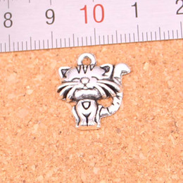 $enCountryForm.capitalKeyWord Canada - 71pcs Charms cat,Antique Making pendant fit,Vintage Tibetan Silver,jewelry DIY bracelet necklace 19*17mm