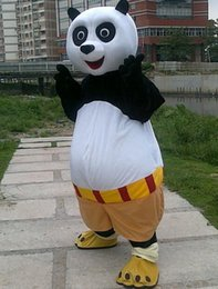 2016 brand new mascot mushroomstreet free shipping halloween outfit costumes suit cartoon kung fu panda mascot costume for adults pandamen - Kung Fu Panda Halloween