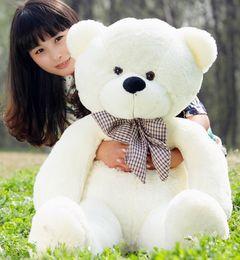 1pc 100cm Giant Big Plush Teddy Bear Valentines Day Brown Giant 100cm Cute  Plush Teddy Bear Huge Soft TOY