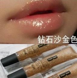 $enCountryForm.capitalKeyWord Canada - Wholesale-1PCS Free Shipping NEW HOT Bob diamond sand gold lip gloss gold plumbing hose diamond lip gloss high quality free shipping