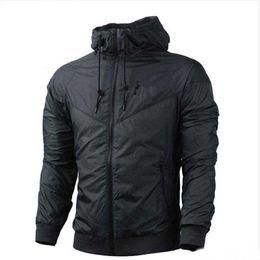 Clothing Zipper UK - Men Women Designer Jacket Coat Luxury Brand Sweatshirt Hoodie Long Sleeve Autumn Sports Zipper Windcheater Mens Clothes Plus Size Hoodies